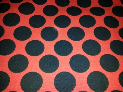 Black Dots on Red